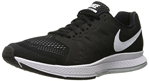 Nike Air Zoom Pegasus 31, Running Entrainement Homme Multicolore (Black/White)