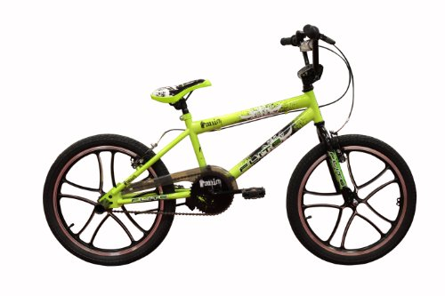 Flite Panic Mag Boys BMX Bike – Green