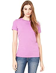 Bella - T-shirt -  Femme -  Violet - Violet - XL