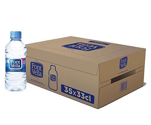 Font Vella - Agua Mineral Natural - Caja 35 x 33Cl
