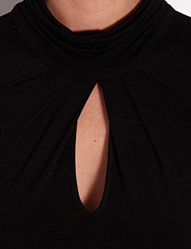 Morgan Damen, T-Shirt, 142-TANI.N Schwarz (Noir)