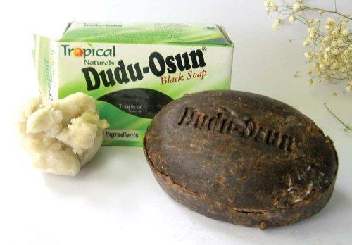 Dudu-Osun 100 % Reine Afrikanische Schwarze Seife von Dudu-Osun Beauty (Englische Gebrauchsanleitung) -