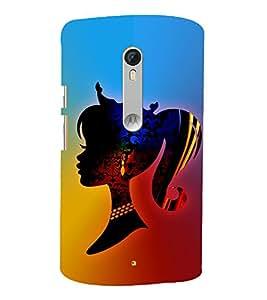 Modren Girl Fashion 3D Hard Polycarbonate Designer Back Case Cover for Motorola Moto G3 :: Motorola Moto G (3rd Gen)