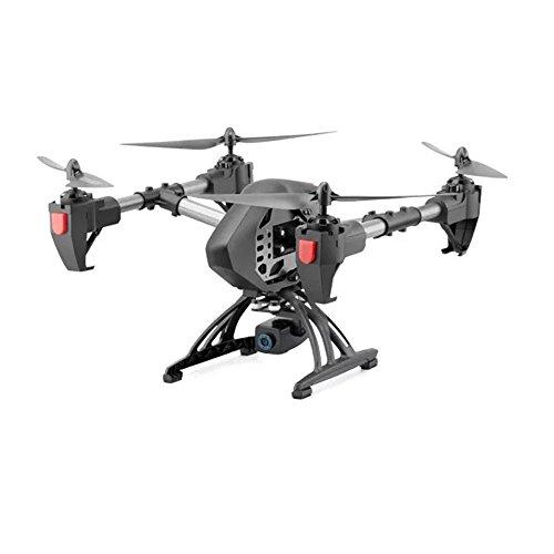 Beautyrain R9 RC Drohne, 2,4 GHz Fernbedienung FPV Wifi Quadcopter 4CH 6-Achsen-Gyro-Hubschrauber, Headless-Modus, mit HD-Kamera Echtzeit (Motoren Racing Horizontale)