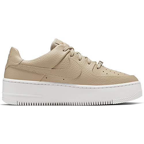 Nike WMNS AIR Force 1 Low SAGE Größe: 38 EU Farbe: Desert ORE (Braun Air Force 1)