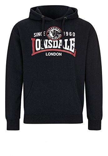 Lonsdale Herren Sweatshirt Blau Dunkelblau Black