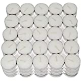 Kala Decorators Smokeless Tea Light Candle(Paraffin Wax) For Wedding,Festival,Party Candle (White, Pack Of 10)