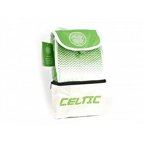 Celtic FC Fußball Fade Design Lunch Tasche Weiß/Grün