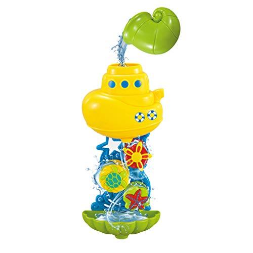 Mitlfuny Schwimmenden Boot Badespaß Zeit Großes Geschenk Bath Toys für Baby,Baby Kinder Badespielzeug Wasserrad Dusche Spray Wasser Badewanne Badezimmer Spielzeug