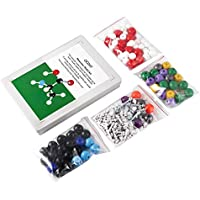 8Eninite Ocday 239 Pz Modello molecolare Kit di Chimica molecolare inorganica Organica Argento
