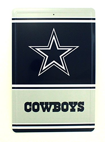 Pro Specialties Group NFL Blechschild Team Logo Dallas Cowboys, 31 x 20.5 cm