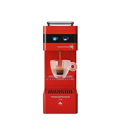FrancisFrancis! Y3 rot Kaffeekapselmaschine