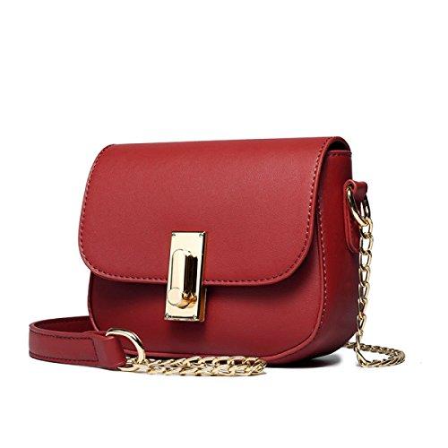 Borse E Borse Borse Da Spalla Designer Borse Da Donna Tote Borse Borse Da Donna AgateRed-leather