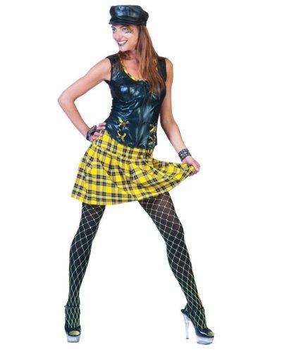 Pierro´s Kostüm Punk Girl Zora Größe 36/38