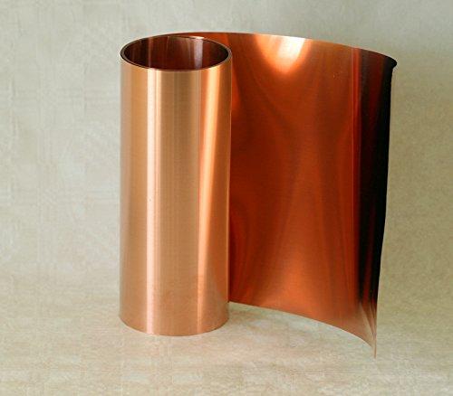 Kupferfolie, 0,1 x 300 mm, 3,0 m Rolle