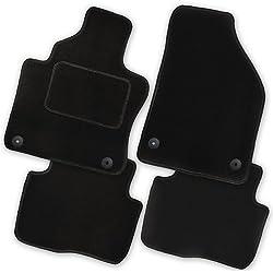 AfC-cLS rE08102 ensemble de tapis de sol noir pour renault captur modèles à partir de 2013