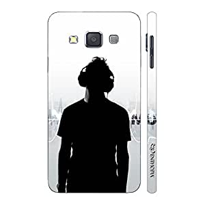 Enthopia Designer Hardshell Case LIVE THE MUSIC Back Cover for Samsung Galaxy A5 2015