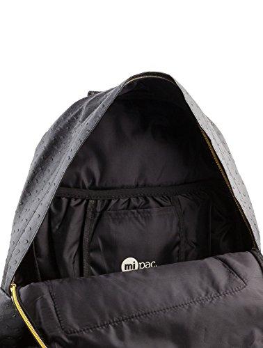 mi pac Ostrich Backpack Black