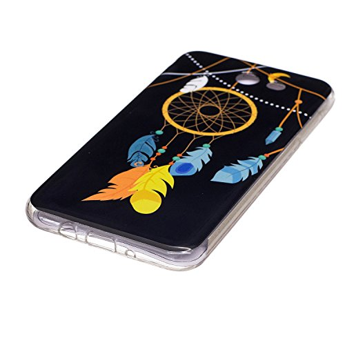Coque Galaxy J5 Prime Luminous,Transparent Coque pour Samsung Galaxy On5 2016,Ekakashop Ultra Slim-fit Noctilucent avec Motif Campanula Coque de Protection en Soft TPU Silicone Crystal Clair Souple Ge Campanula Luminous