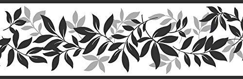 Peel-stick-border (Fine Decor FDB07508S Multicolor Leaf Trail Peel & Stick Border, Multi-Color by Fine Decor)