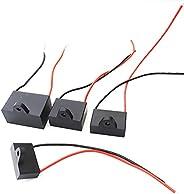 Capacitors 20UF 15UF 12UF 10UF 9UF 8UF 7UF 6UF 5UF 4.5UF 4UF 3.5UF 3UF 2.5UF 2UF 1.5UF 1UF CBB61 250V 2 wires