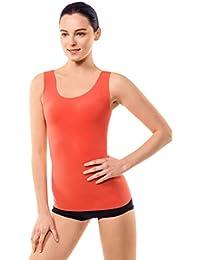 MD Stringer Damen Tops Shapewear Body Shaper Bauchweg Miederkleid Trägertop