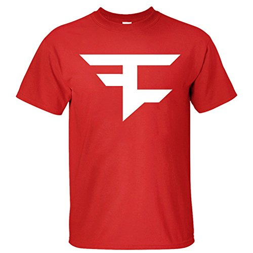 Sixtion XIXU Faze Clan Logo Men Custom T Shirt Medium