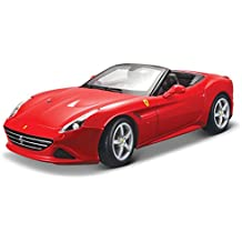 Bburago - 1/18 Ferrari Race & Play California T (descapotable), color rojo (18-16007)
