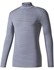 adidas Herren Techfit Long Sleeve Climawarm Mock T-Shirt