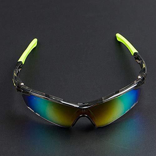 ANSKT Sonnenbrille gegen Sand reiten, 3UV 400 Outdoor-Sportbrillen polarisierte Sonnenbrillen Reitbrillen, geeignet zum Skifahren von Golf-Bikes beim Fischen mit Baseball