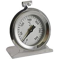 Respaldo de acero inoxidable, mocosa, estufa, horno termómetro. horno termómetros bimetálicos. temperatura termómetro analógica hasta 300 ° c