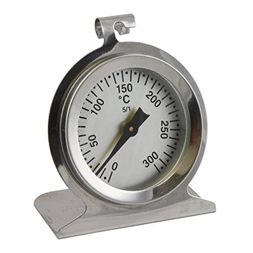 Lantelme 300 °C Edelstahl Back/Brat/Herd/Ofen Thermometer
