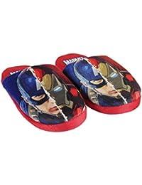 Avengers - Zapatillas de estar por casa de Material Sintético para niño azul turquesa