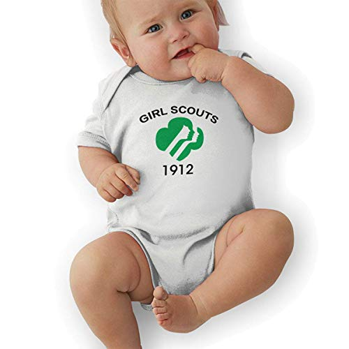 sunminey Babybody Soft Baby Cotton Bodysuits Girl Scouts 1912-01 Graphic Short-Sleeve - Girl Scout Kostüm