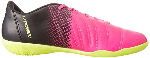 Puma Evopower 4.3 Tricks It, Chaussures Multisport Indoor homme Rose - Pink (pink glo-safety yellow-black 01)