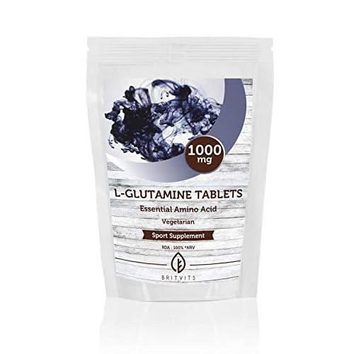 L-Glutamine 1000mg Essential Amino Acid 30 Vegetarian Tablets UK Pills Health Food Supplements Nutrition
