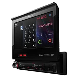 Pioneer AVH-6300BT Autoradio DVD / DivX MP3 Ecran panoramique Contrôle iPod/iPhone Emplacement carte SD Bluetooth USB et entrée auxiliaire Noir (Import Allemagne)