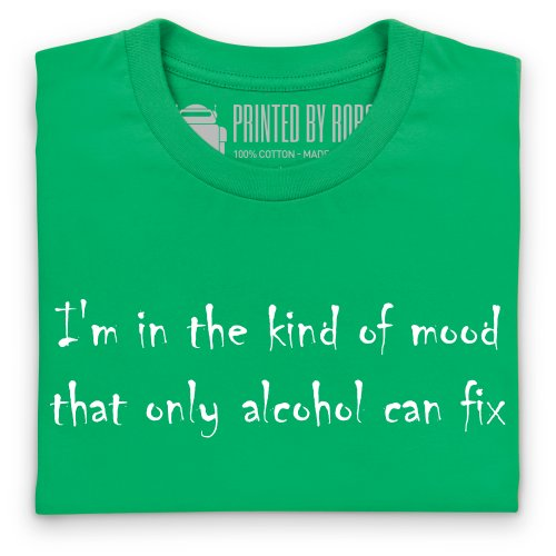 Alcohol Mood T-Shirt, Damen Keltisch-Grn