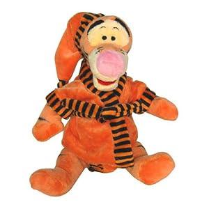 Joy Toy Disney 505529-Winnie The Pooh, Tigger en Bata en Unique Velboa 25cm
