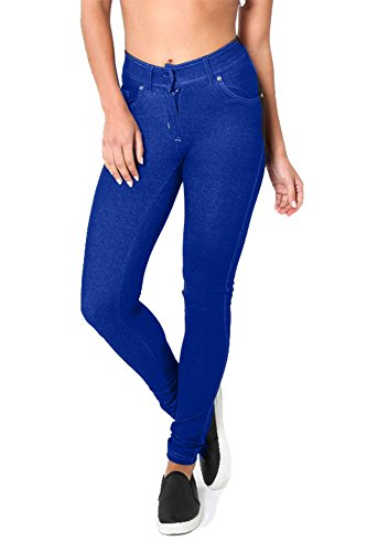 ROCKBERRY Skinny Womens Jeans Stretchy Jeggings Ladies New Fit coloured Pants