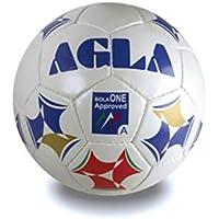 Agla Bola One, Pallone Unisex – Adulto, Bianco/Blu, 3.7