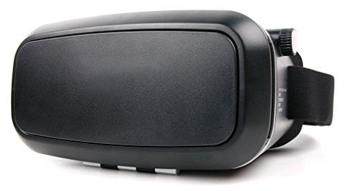 DURAGADGET 3D VR Brille magnetischem Verschluß für Ihr Huawei Honor 9 | 6A | 6X | 8 Pro | V9 | Mate SE Smartphone (virtuelle Realität)