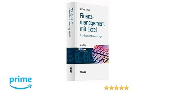 FINANZMANAGEMENT MIT EXCEL EBOOK