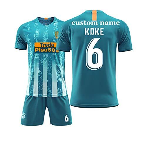 WANG YIBO Fußballuniformen benutzerdefinierte Fußball Trikots Neue Saison personalisierte Fußball-Sweatshirt Shorts Erwachsenen jugendlich Jungen Benutzerdefinierten Namen und Nummer