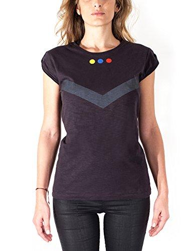 Marco Mengoni - T-Shirt Esercito Maglietta da Donna, Nero, S