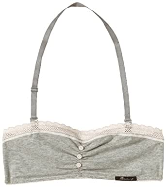 Skiny - Girls Bandeau Bh - Soutien-gorge Fille - Gris (MELANGE 1636) - FR : 14 ans (Taille fabricant : 164)