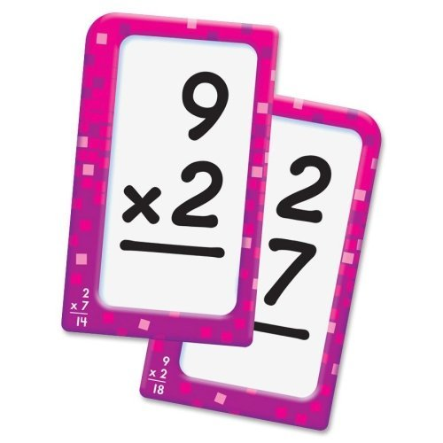 Wholesale case of 25 - Trend Multiplication Pocket Flash Cards-Multiplication Flash Cards, 3-1/8 x5-1/4 , 56cds, Multi