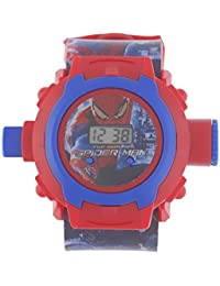 JMD Impex Kids 24 Images Spiderman Digital Projector Watch…beautiful Return Gift For Kids…enjoy With Bright Light...
