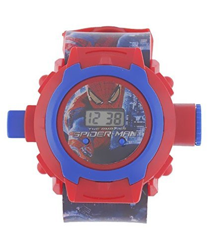 Helizest Spiderman Projector Watch Suitable For Children Aged 3+