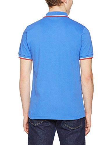 Merc of London Herren Poloshirt Card Bleu (new Royal)